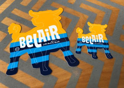 Bel Air Cantina Milwaukee Flag Stickers - Milwaukee Day - MKE Day - 414