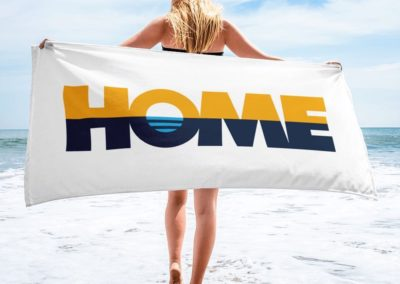 HOME - MilwaukeeHome x Milwaukee Flag Beach Towel