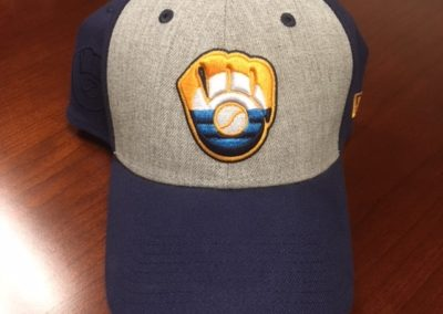 MLB Milwaukee Brewers / MKE Flag 39Thirty Cap