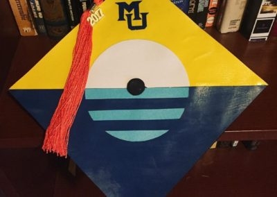 Marquette Graduation - People's Flag of Milwaukee